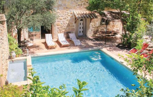 A view of the pool at Holiday home Rue de la Serre or nearby