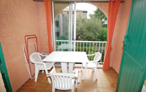 A balcony or terrace at Apartment Boulevard Hamon II