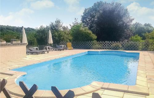 The swimming pool at or near Holiday home La Fayolle O-565