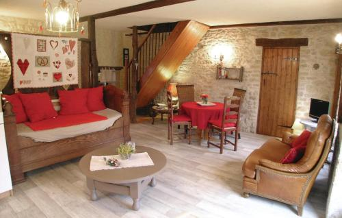 A seating area at Holiday home La Fayolle O-565