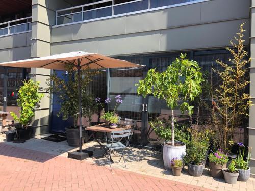 Een restaurant of ander eetgelegenheid bij Chez Odette - free bikes & private car parking