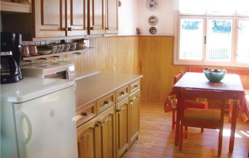 Kuchyň nebo kuchyňský kout v ubytování Holiday home Krasna Nr.