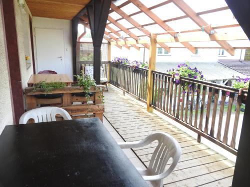 Balkon lub taras w obiekcie Kwatery u Rysia