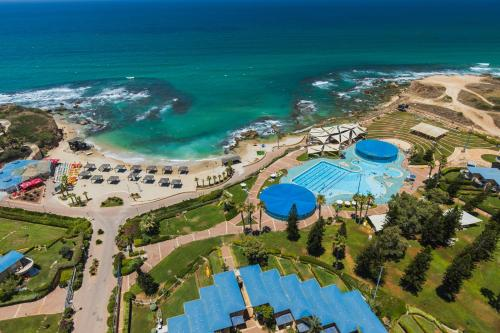 A bird's-eye view of Ramada Resort Hadera Beach