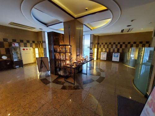 The lobby or reception area at Hotel J Club