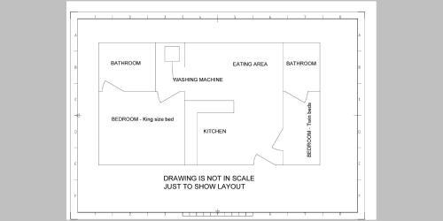 The floor plan of Villa Giulia