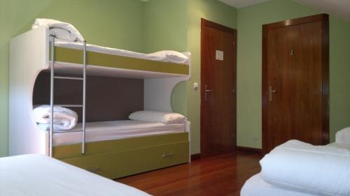 Litera o literas de una habitación en Xabu Hostel