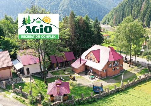 A bird's-eye view of Agio Hotel
