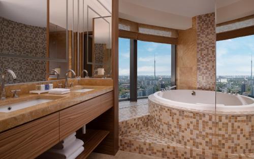 Ванная комната в Рэдиссон Блу Олимпийский