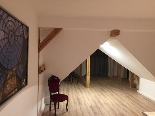 TV/Unterhaltungsangebot in der Unterkunft Schloss Badow