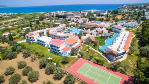 A bird's-eye view of Lydia Maris Resort & Spa