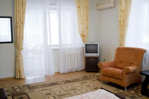 Гостиная зона в Гостиничный Комплекс Солнечный