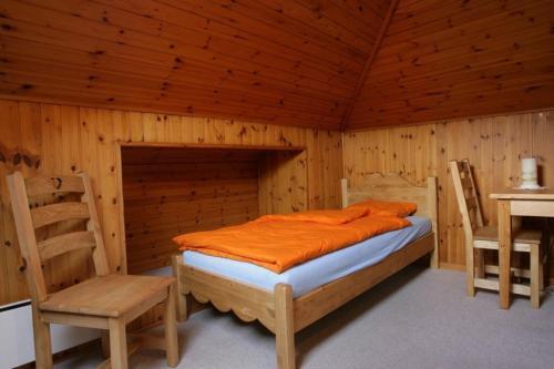 Ein Bett oder Betten in einem Zimmer der Unterkunft Bed and Breakfast Le Central