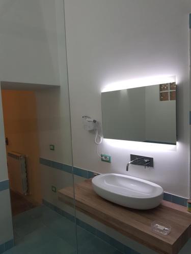 Salle de bains dans l'établissement Residence San Mattia
