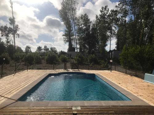 The swimming pool at or near Pousio-Bungalows&Camping