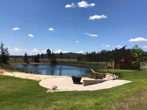 The swimming pool at or near Winmark Wines