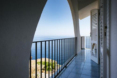 Balcone o terrazza di Hotel Punta Scario