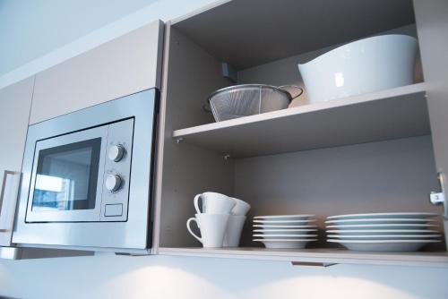 A kitchen or kitchenette at Bonnaparte