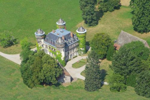 Vue panoramique sur l'établissement Château de Sédaiges
