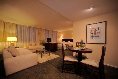 Zona de estar de Hotel El Araucano