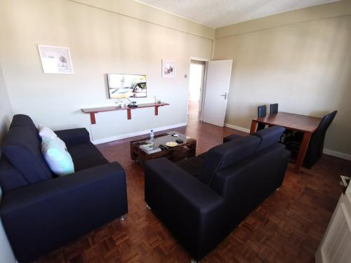 A seating area at TD Guest House