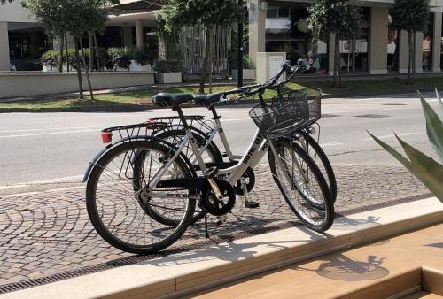 Jízda na kole v ubytování Hotel Cleofe nebo okolí