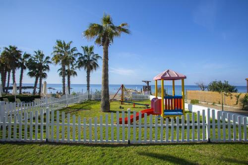 Children's play area at Louis Ledra Beach