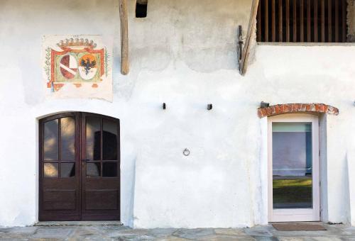 Facciata o entrata di Agriturismo Famiglia al Castello Di Bagnolo