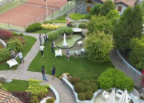 Vista aerea di Hotel Miralago