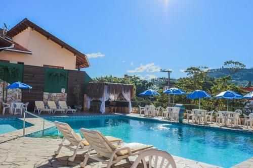 A piscina localizada em Termas Park Hotel ou nos arredores
