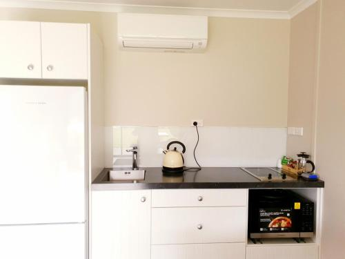 Ett kök eller pentry på Braxmere