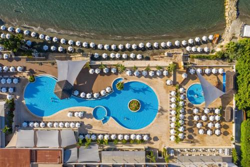A view of the pool at The Royal Apollonia or nearby
