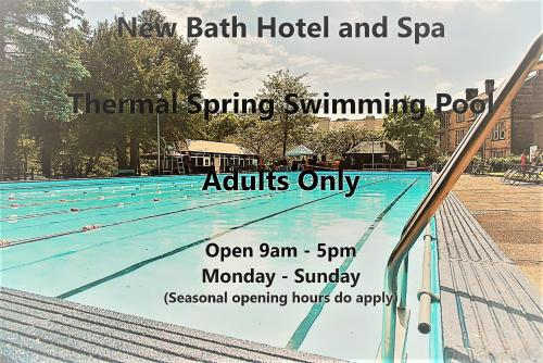 The swimming pool at or near New Bath Hotel & Spa