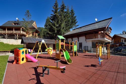 Detský kútik v ubytovaní Villa Gardenia