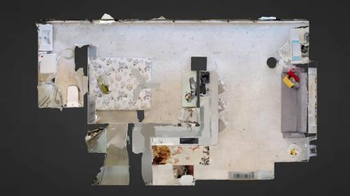 The floor plan of Marina Suite