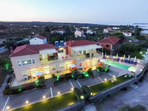 A bird's-eye view of Panorama Resort
