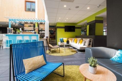 Lounge oder Bar in der Unterkunft Ibis Styles Toulouse Labège