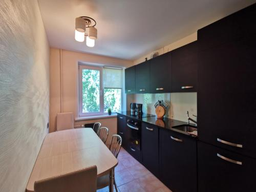 A kitchen or kitchenette at Apartment Komfort Dom