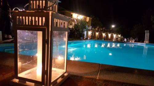 The swimming pool at or close to Agriturismo Fonte di Maroglio