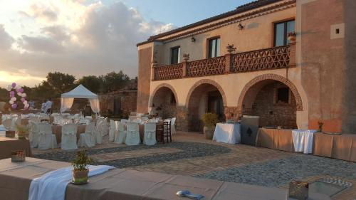 Banquet facilities at the farm stay