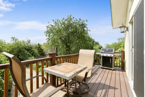 A balcony or terrace at Location, Location - The Perfect Montauk Vacation