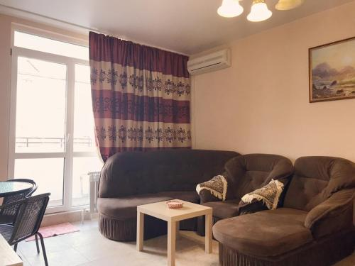 Гостиная зона в Mini-hotel Divnomorskiy