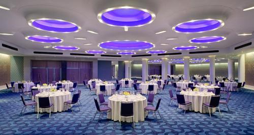 ホテルにある宴会場またはバンケット用施設