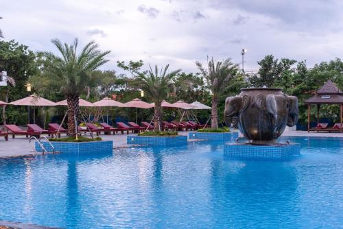 The swimming pool at or near Pacific Hotel & Spa