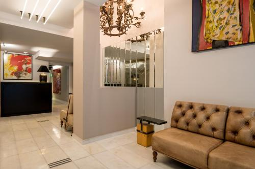 The lobby or reception area at Fos DownTown Suites