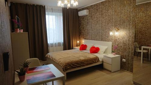 Кровать или кровати в номере Bliss Hotel