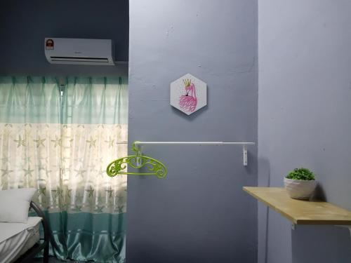 A bathroom at Homestay Tidurzzz Bandar Melaka