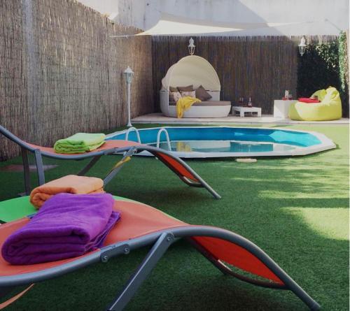 The swimming pool at or near Casa Da Piririca