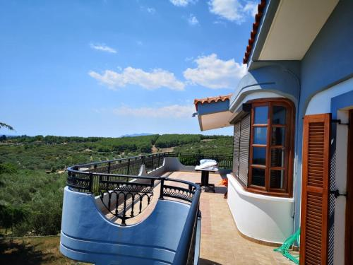 A balcony or terrace at Haus Anna