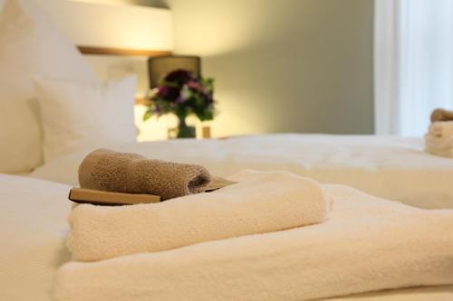 Ein Bett oder Betten in einem Zimmer der Unterkunft Kochsberg
